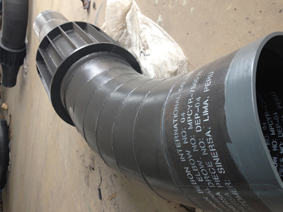 Pipe bending product