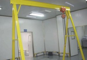Movable portal gantry crane